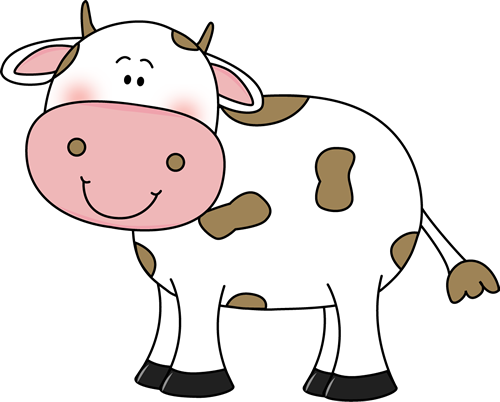 500x402 Free Cartoon Cow Clip Art Free Images At Vector Clip
