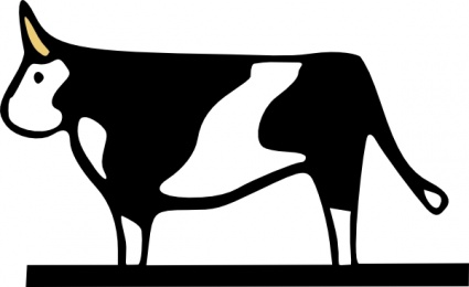 425x260 Cow Clip Art Steak Cliparts