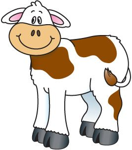 267x304 821 Best Animals Clip Art Images Pictures, Cattle