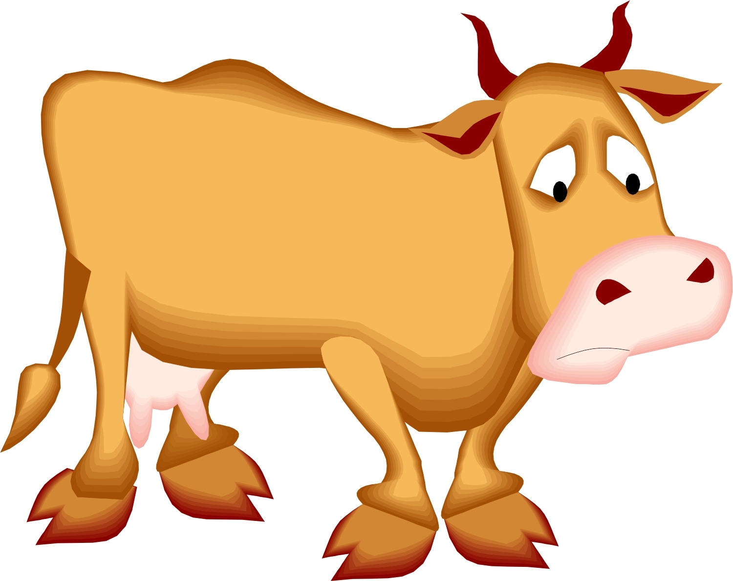 1500x1189 Free Cow Clipart Download Clip Art