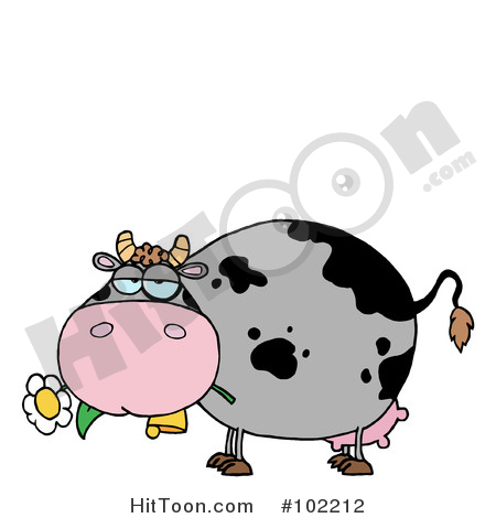 450x470 Cow Clipart