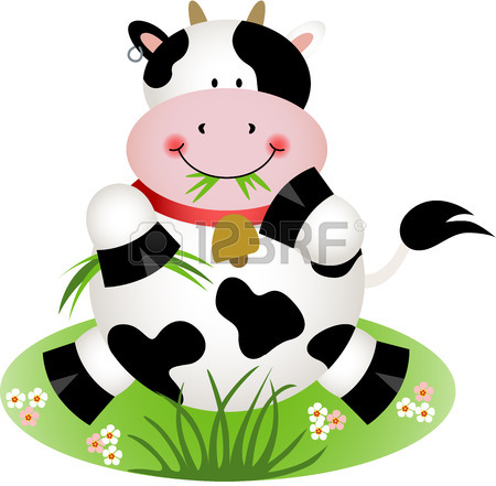 450x441 Cute Cow Royalty Free Cliparts, Vectors, And Stock Illustration