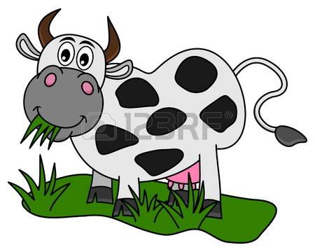 450x360 Herbivorous Clipart Cow