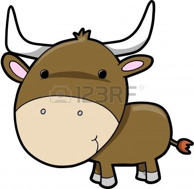 400x390 The Best Cow Vector Ideas Easy Drawings
