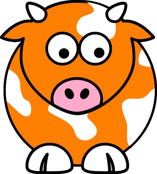 534x594 Blue Cow Clip Art