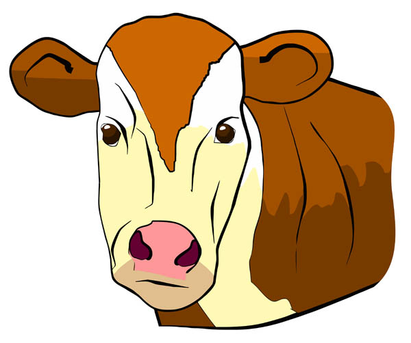 Cow Face Clipart | Free download best Cow Face Clipart on
