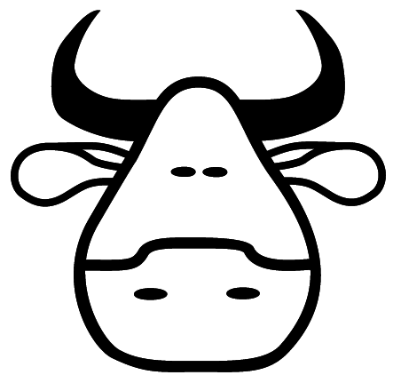 443x431 Cow Head Cliparts 198498