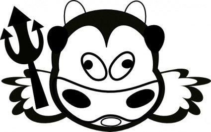 425x267 Cow Outline Clip Art Download 1,000 Clip Arts