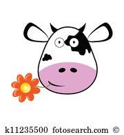 180x195 Cow Head Clip Art Clipart