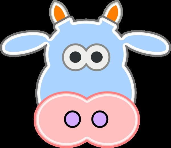 600x521 Cow Head Cliparts 198522