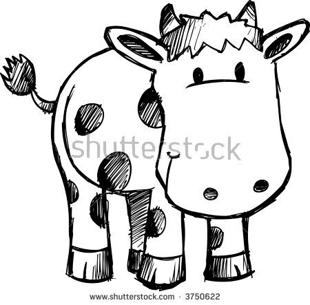 450x443 Die Besten Cow Vector Ideen Auf Einfache