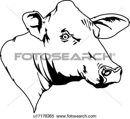 450x412 Head Clipart Black Cow