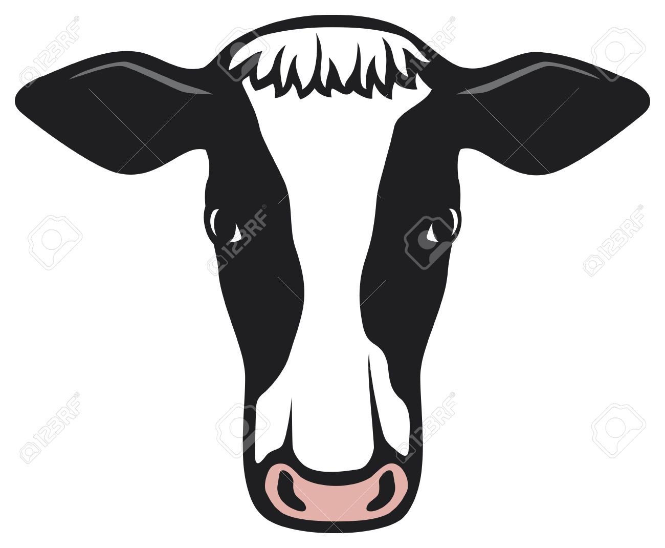 1300x1070 Beef Clipart Cow Head
