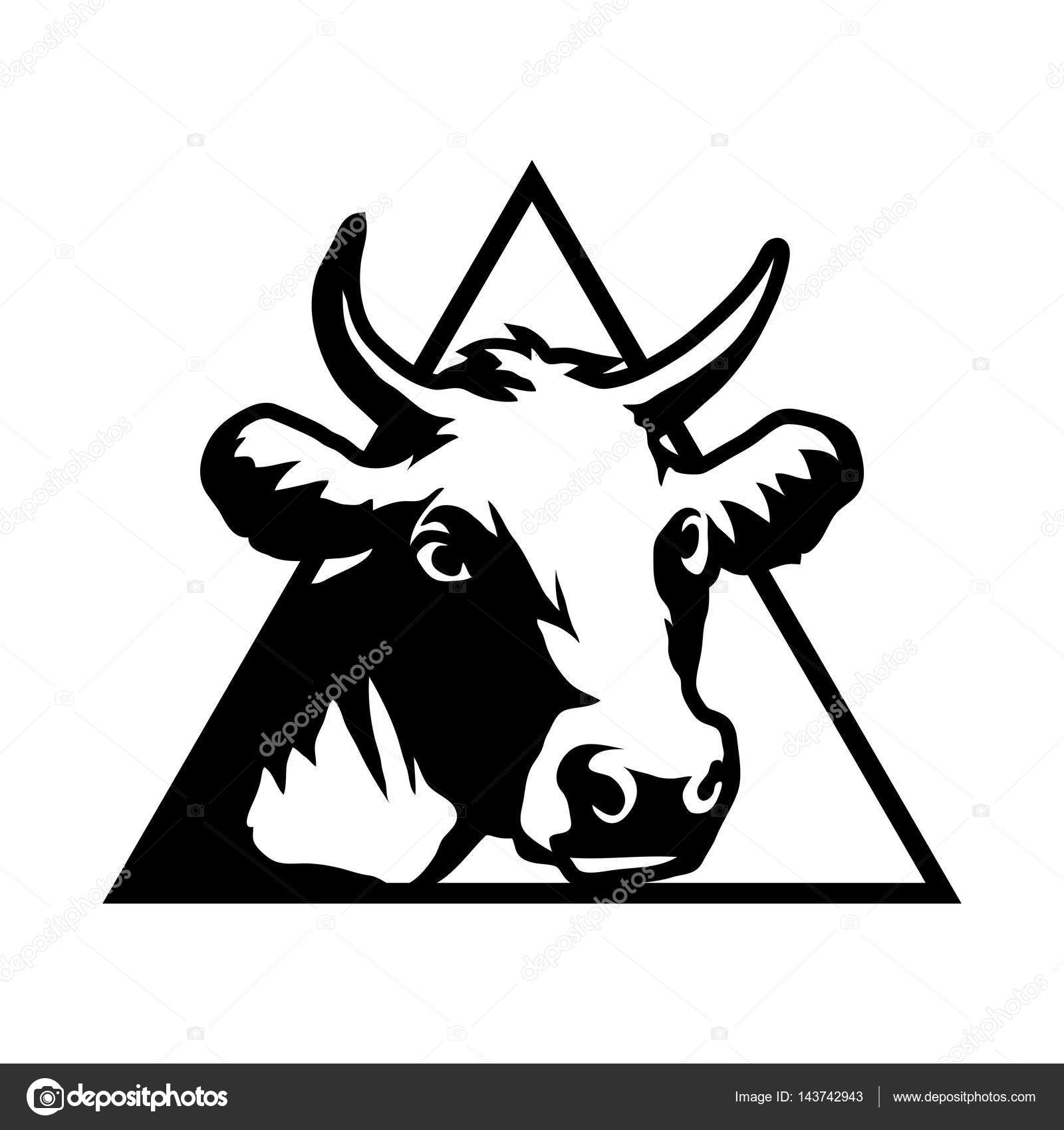 1600x1700 Cow Head Silhouette Stock Vectors, Royalty Free Cow Head