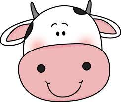 245x206 Cow Face Clip Art