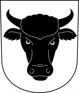 336x393 Cow Head Silhouette