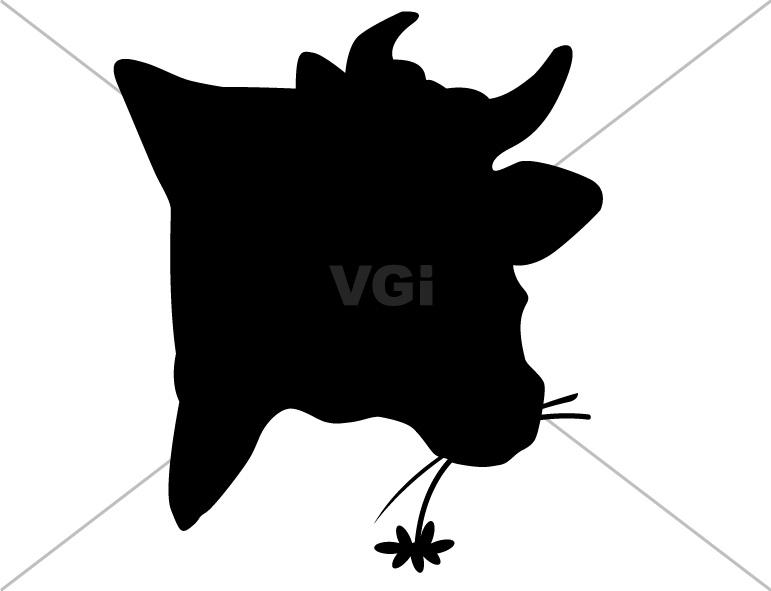 771x591 Cow Head Silhouette Clip Art Clipart Panda