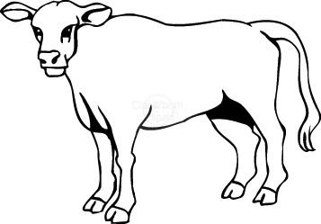 357x249 Cow Clip Art For Kids Free Clipart Images Clipartix 2