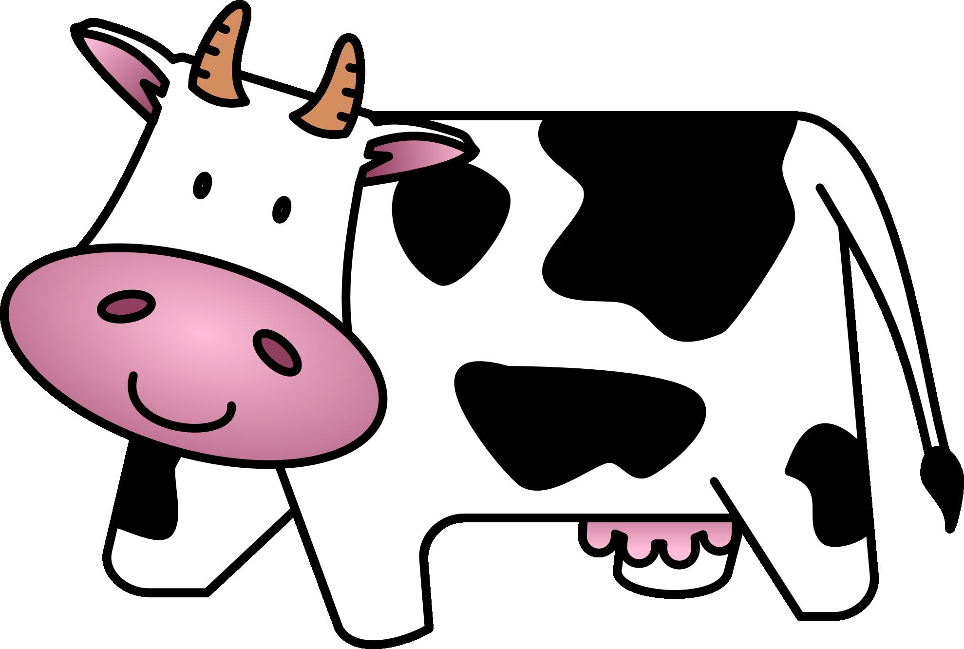 1979x1332 Cow Clip Art Free Cartoon Clipart Images