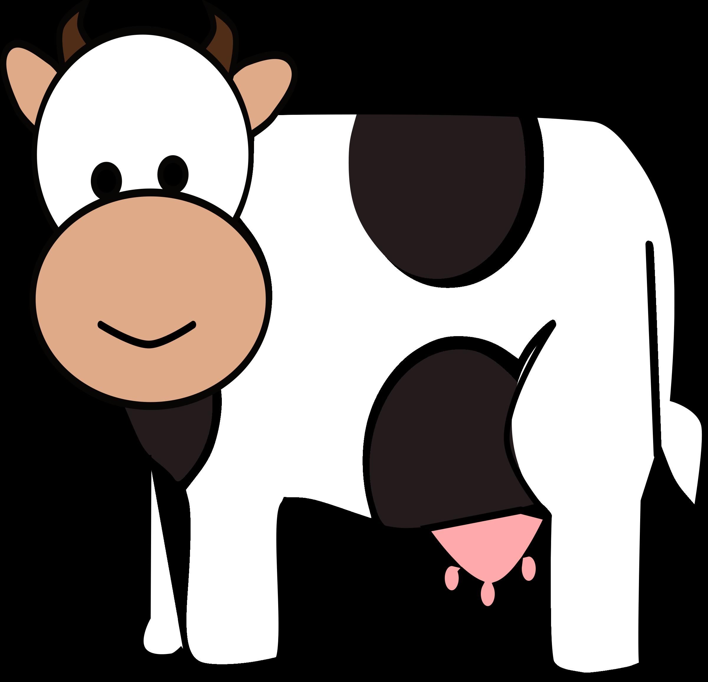 2400x2311 Happy Cow Clip Art
