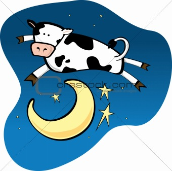 340x337 Image 1519818 Cow Jumping Over The Moon From Crestock Stock Photos