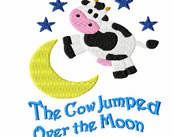 340x270 Nursery Lighting Cow Jumped Over The Moon Nursery Rhyme Lamp