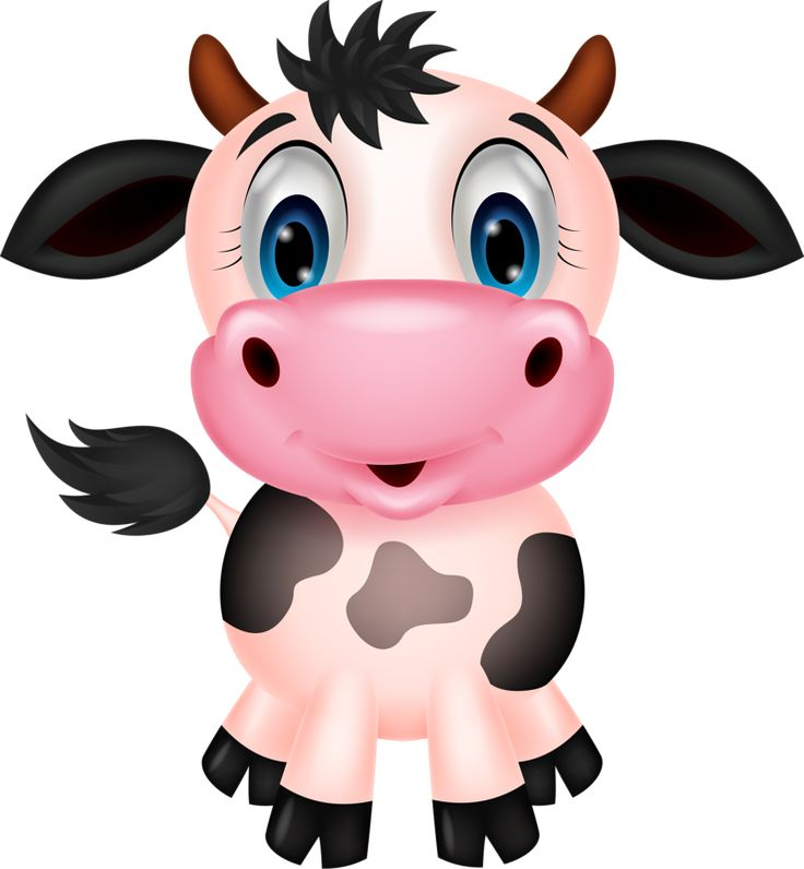 Cow Jumping Over The Moon Clipart