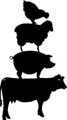 236x420 Farm Animals Clipart Cow Head