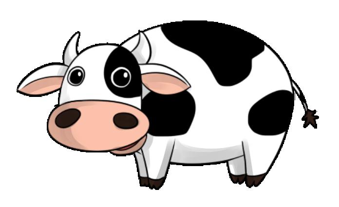 696x425 Cow Clipart Transparent Background