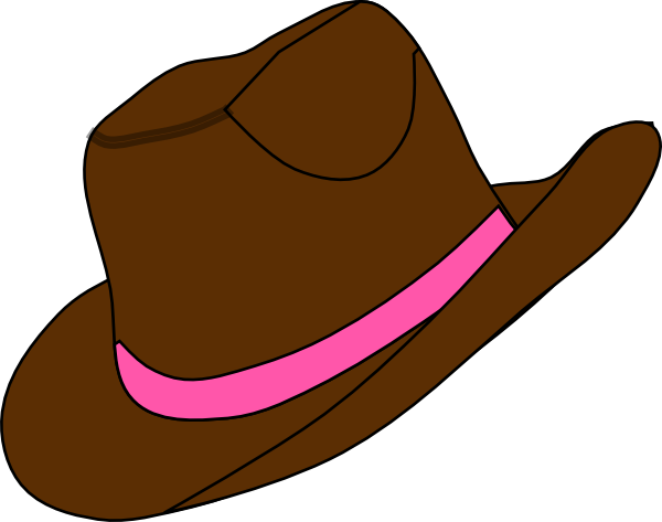 600x473 Cowgirl Hat And Boot Clip Art