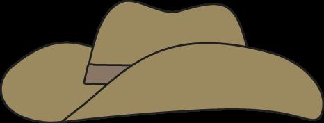 466x177 Clipart Cowboy Hat