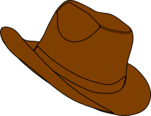 300x231 Cowgirl Hat Clipart