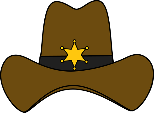 500x366 Sheriff Cowboy Hat Texas Sheriff, Cowboys And Clip Art