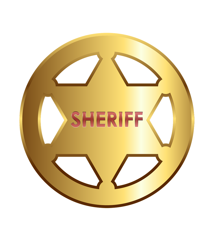 900x952 Sheriff Badge Cowboy Badge Picture Template Clipart Image