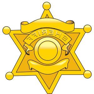 300x300 Star Police Badge Clipart
