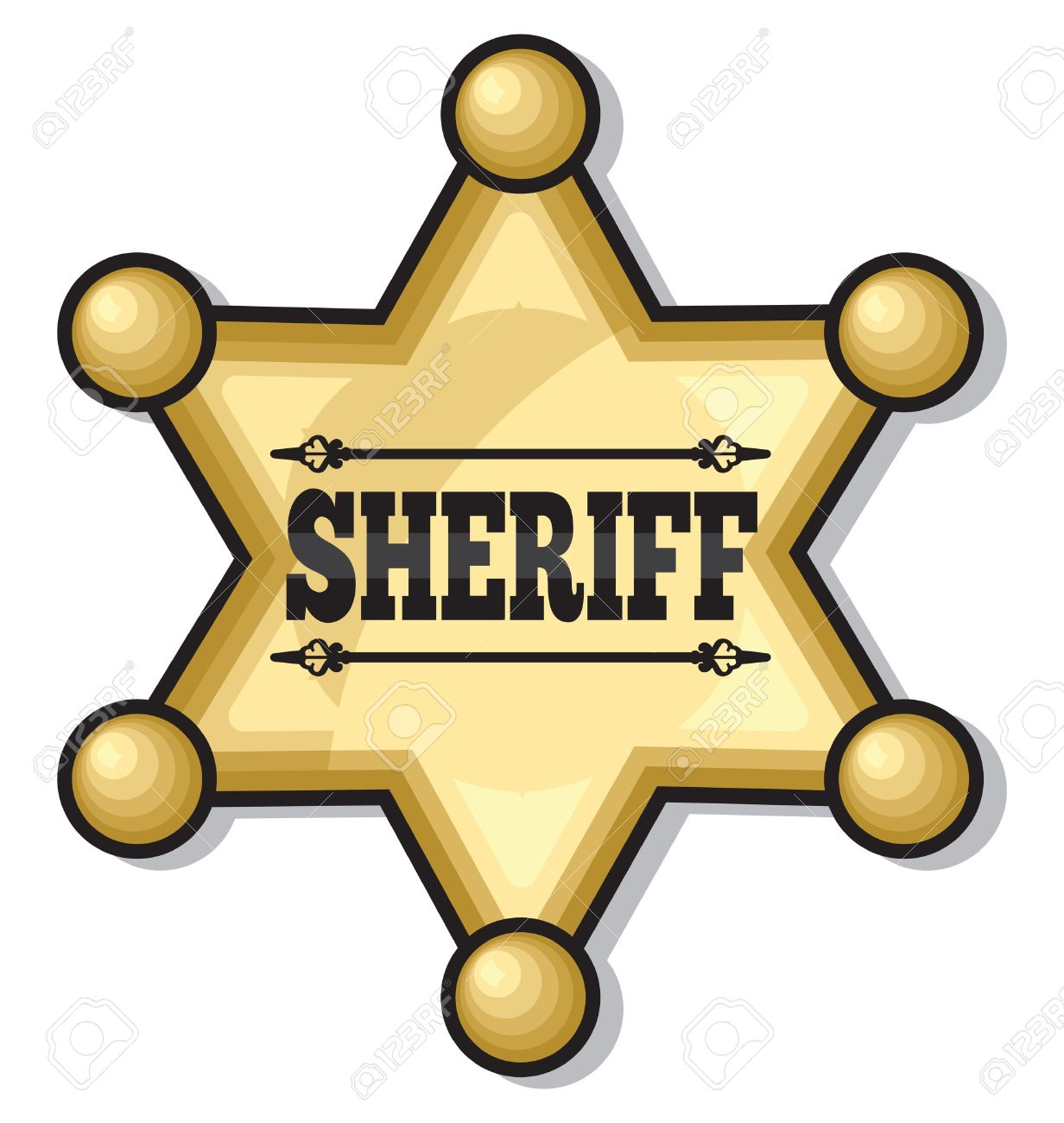 1232x1300 Western Clipart Sheriff Badge