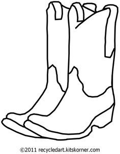 Cowboy Boot Black And White Free Download Best Cowboy Boot Black