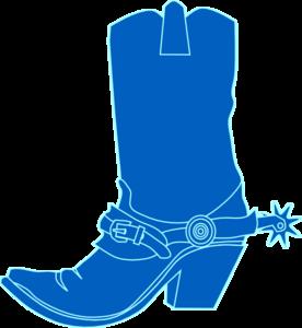 276x300 Cowbpy Hat Blue Clip Art