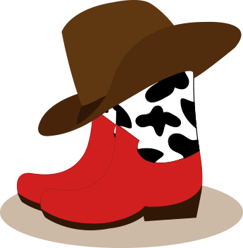 345x351 Boots Clipart Children'S