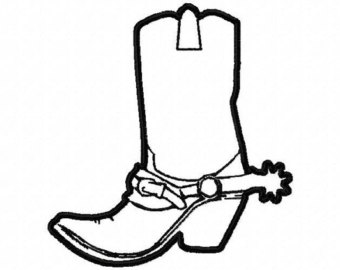 340x270 Drawn Boots Cowboyboot