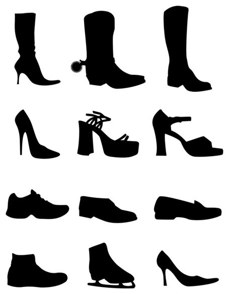 455x586 Cowboy Boot Clip Art, Vector Cowboy Boot