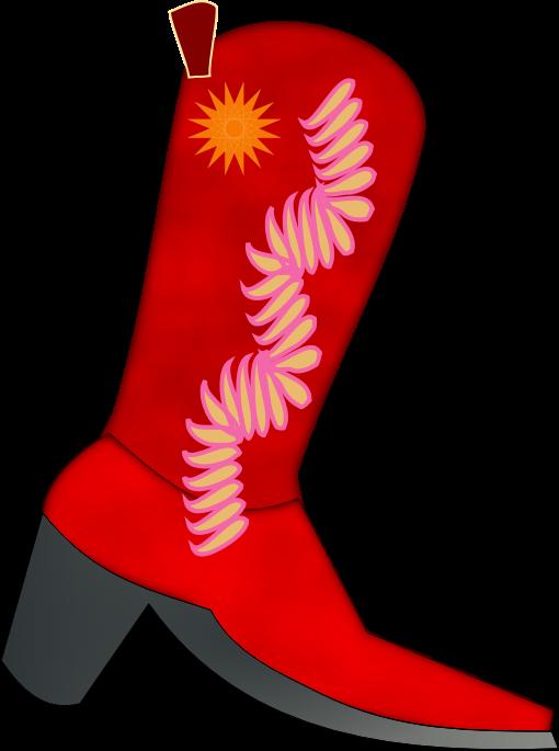 510x685 Cowboy Boots Clipart Black And Whitewboy Clip Art Image Clipartix