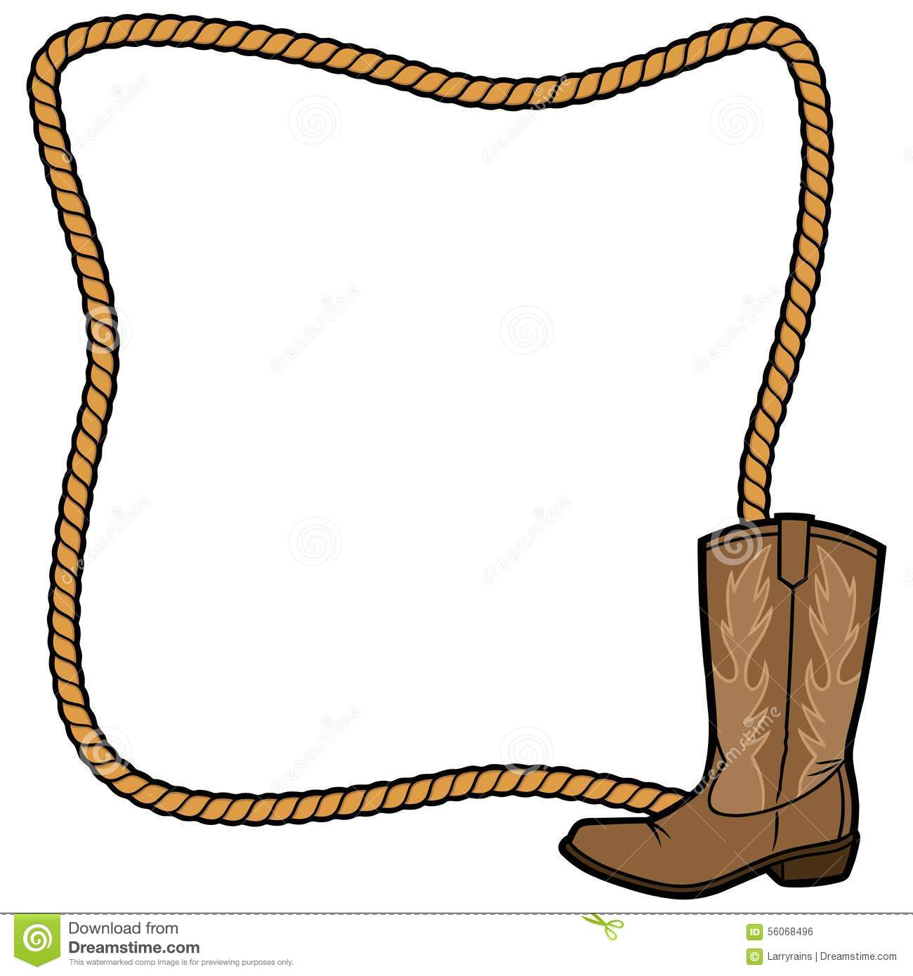 1300x1390 Rope Clipart Cowboy Boot