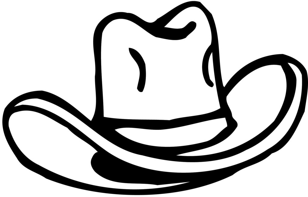 1024x657 Pics Of Cowgirl Boots And Hat Coloring Pages Cowboy Clip Art Adult