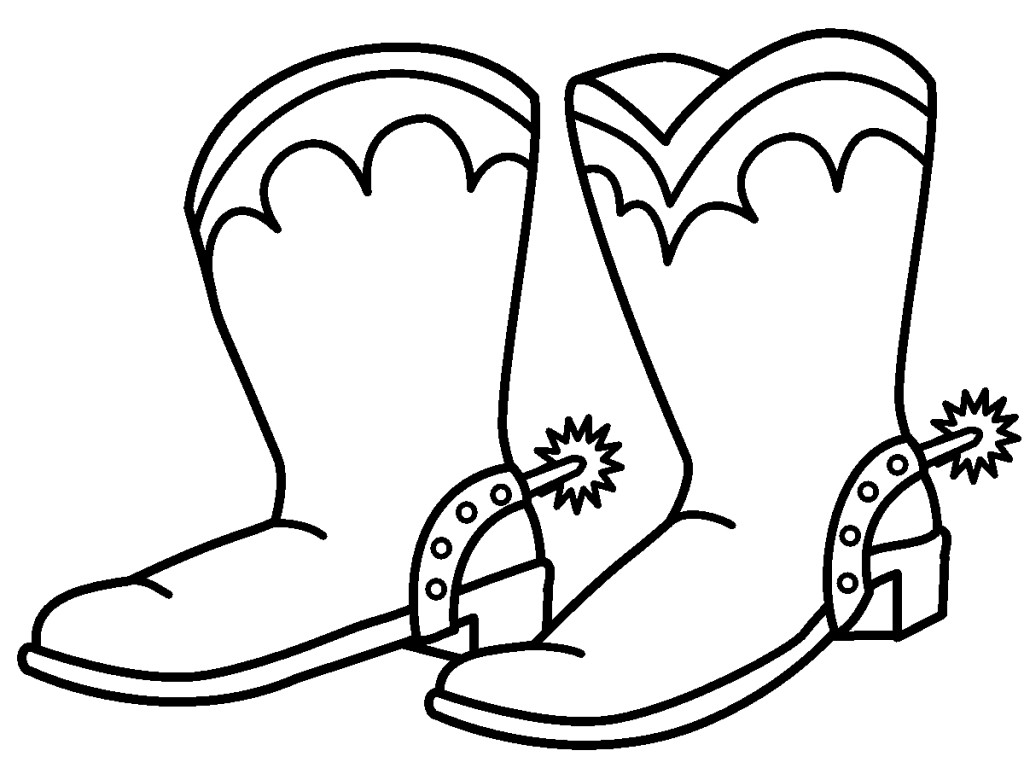 1024x768 Boots Clipart Children'S