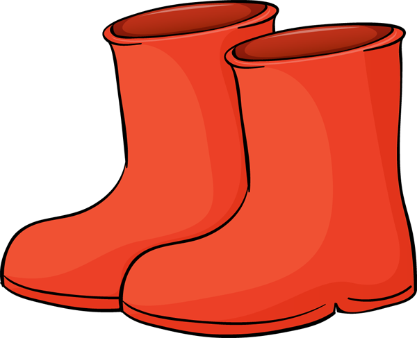 600x487 Boot Clip Art