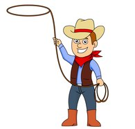 195x186 Free Cowboys Clipart