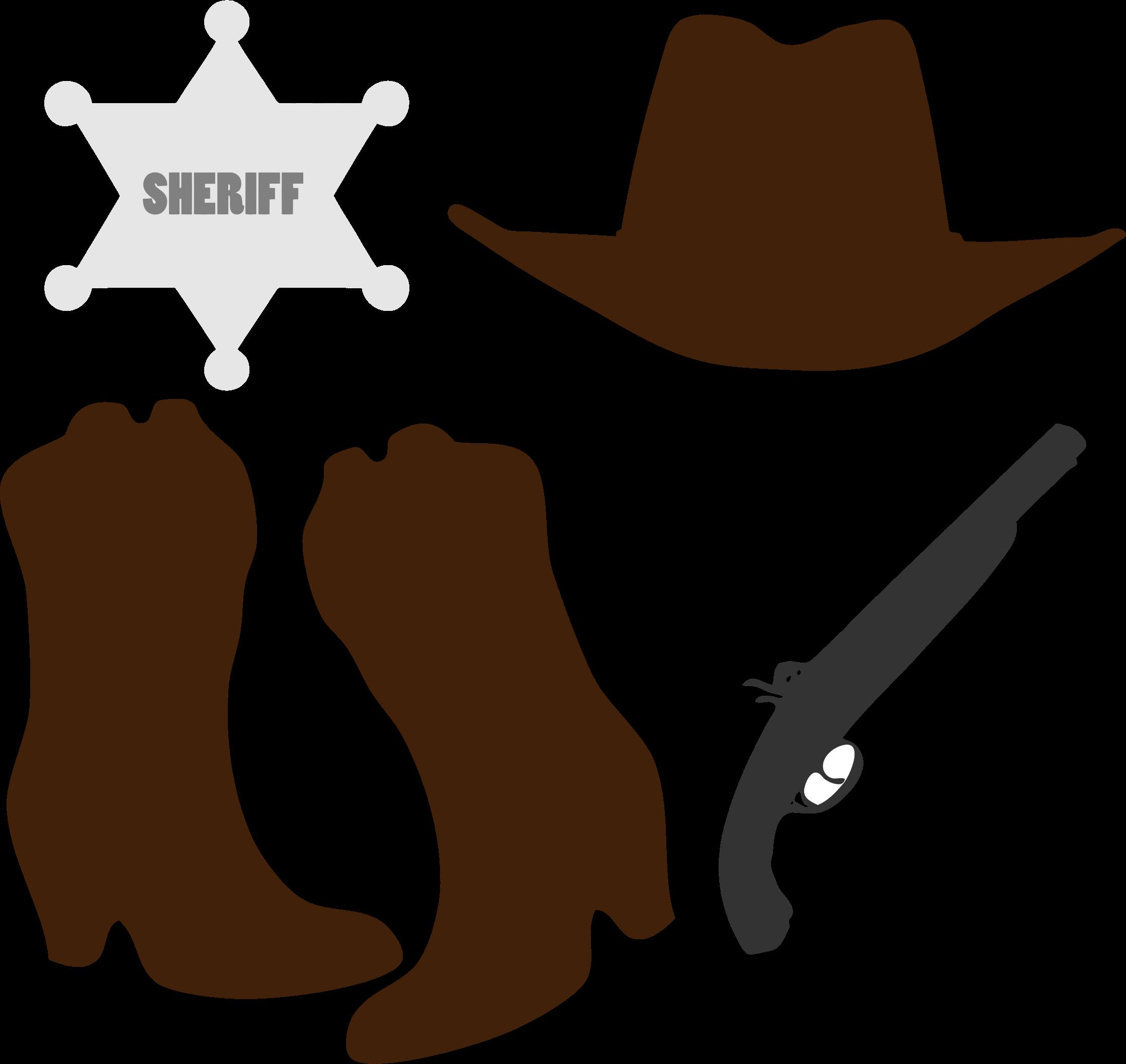 2239x2115 Cowboy Clipart Accessory