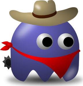 288x299 Free Cowboy Clip Art (Ride Away With It)