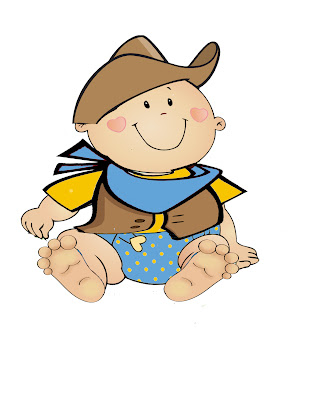 309x400 Cowboy Baby Clipart